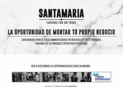 Landing Page de Santamaría tabernas con un toque